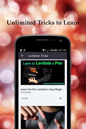 Learn Magic Tricks : Unleash the Magician in You Screenshot
