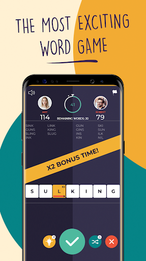 7 Letters - Multiplayer Word Puzzle Game - screenshot