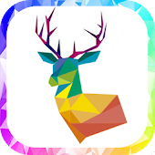 Poly Art Lover - Coloring Free