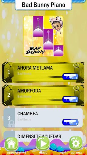 Bad Bunny Piano Game screenshot 2