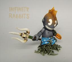 "Photo: Kid Triton. Custom 3"" 'Bot"