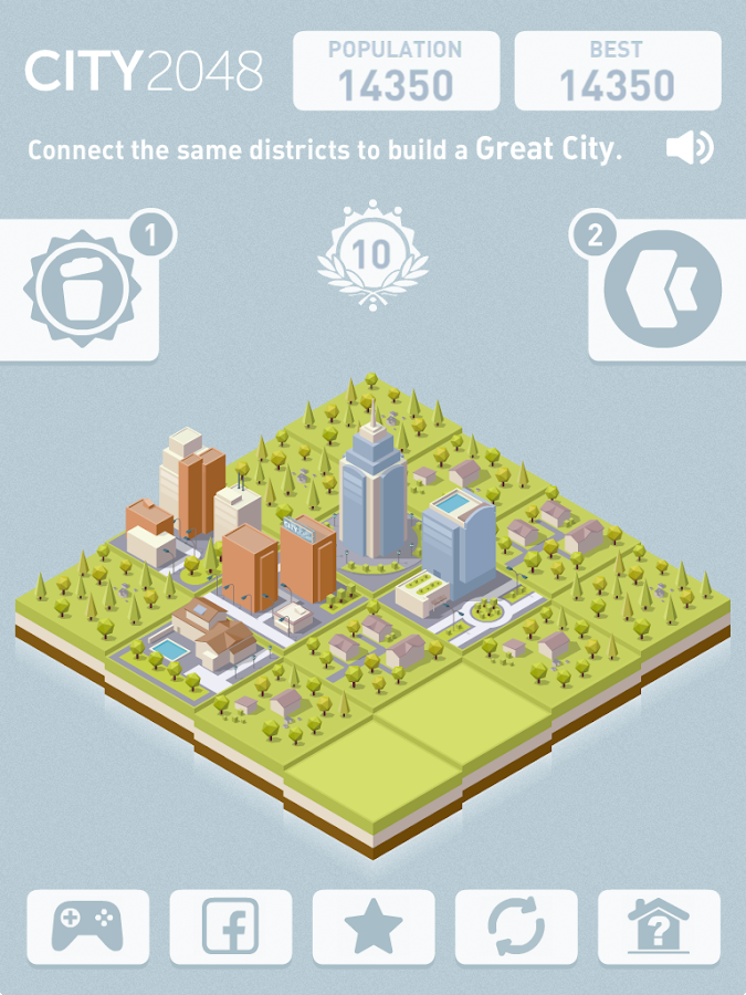 City 2048- screenshot