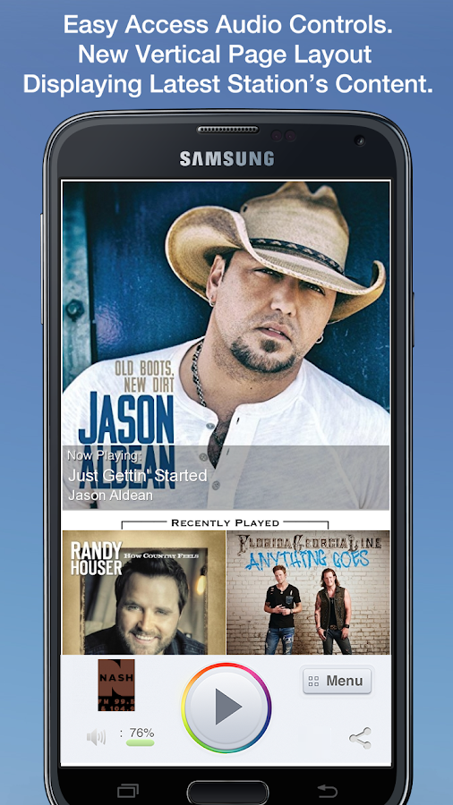 NashFM Wisconsin- screenshot