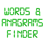 Words & Anagrams Finder
