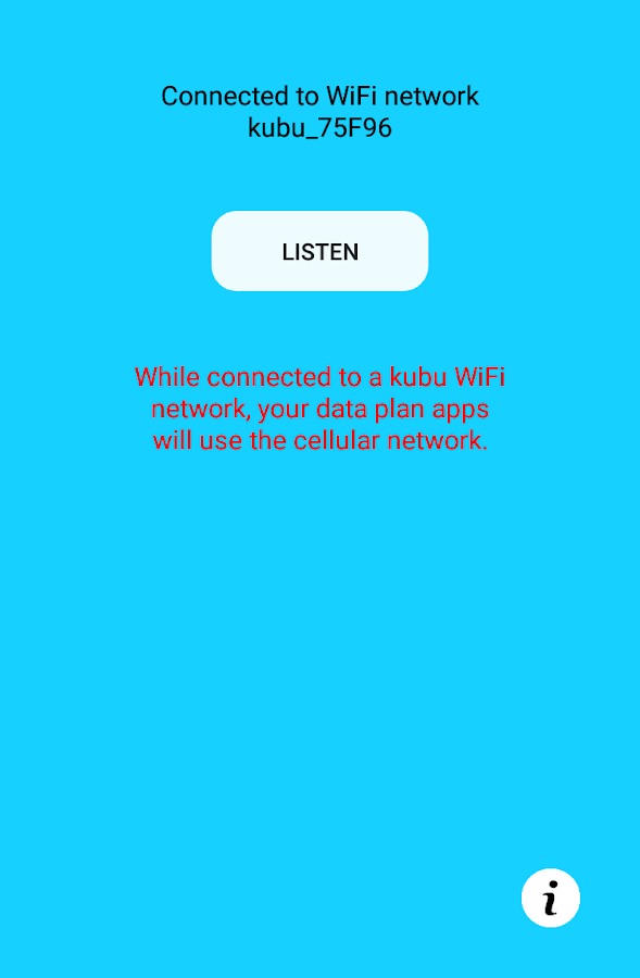Kubu WiFi Audio- screenshot