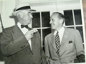 Photo: Governor Gardner and Jack Benny at the Webbley Shelby, NC