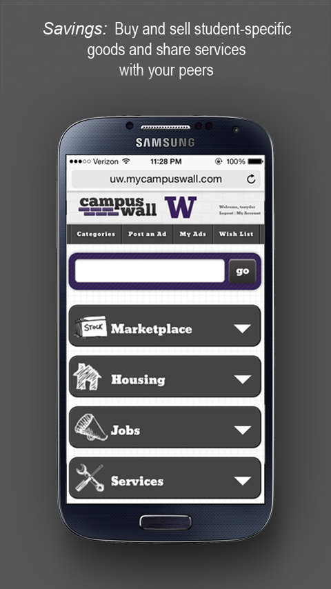 CampusWall- screenshot