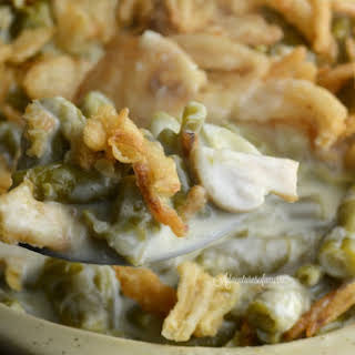 Instant Pot or Slow cooker Green Bean Casserole.