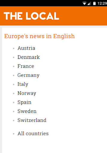 The Local - European News 3.1.0 screenshots 1