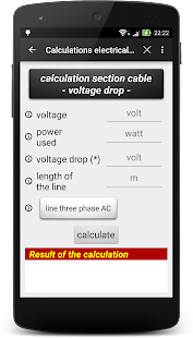 Calculate electrical line Lite - náhled