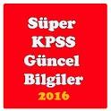 2016 KPSS Güncel Bilgiler icon