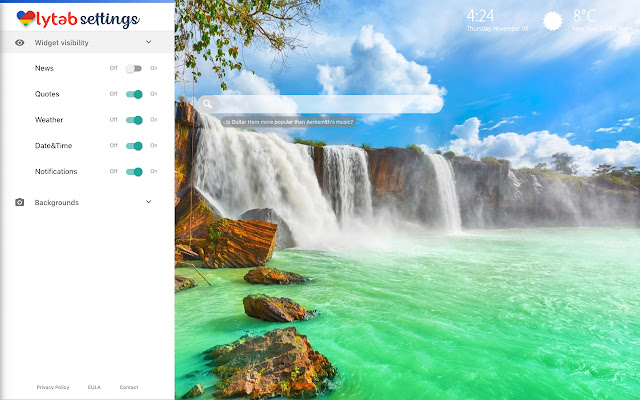 Waterfall Wallpaper Waterfalls Background