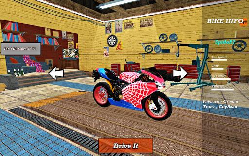Bike Super Hero Stunt Driver Racing 1.0 screenshots 20