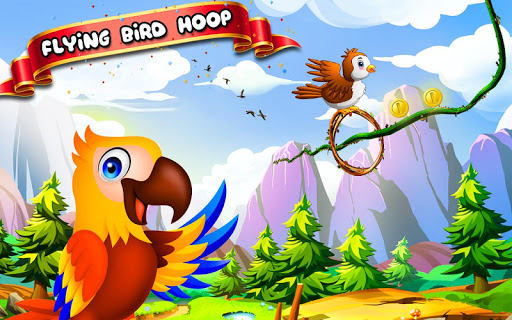 Flying Bird Hoop 1.0 screenshots 1