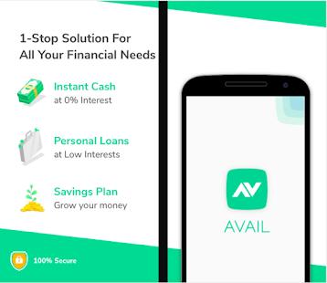 App Personal Loans, Instant Cash, ECash app- Avail APK for Windows Phone