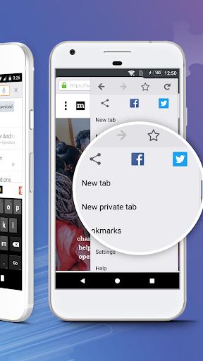 Firefox Browser fast & private screenshot 4