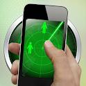 Real people radar simulator icon