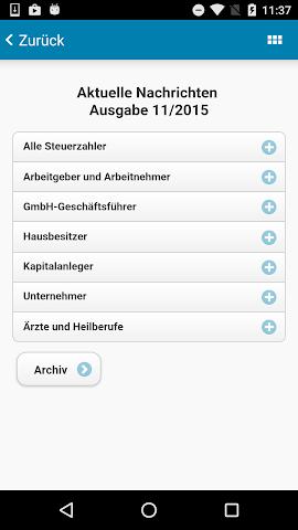 android N B A Freising Steuer App Screenshot 1