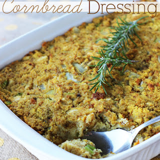 Cornbread Dressing {Christmas Tradition Series}