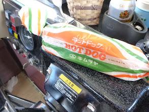 Photo: オオツさん、いつもありがとうございます。久留米名物のHOT DOG!・・・先日、カワサキさんからも頂いてました。
