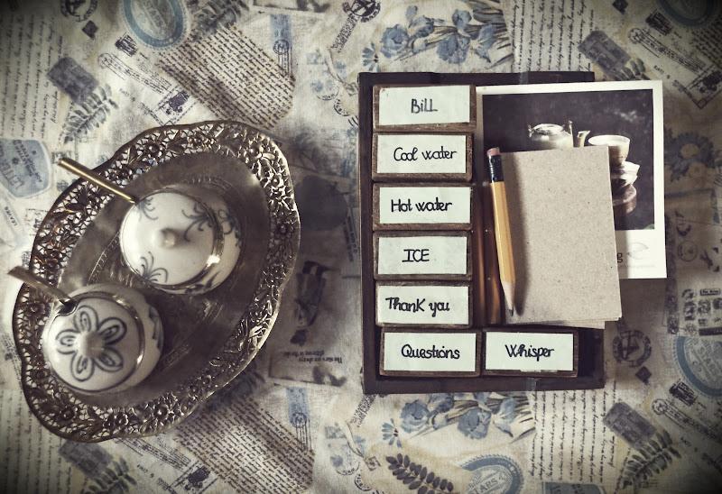 Tea Break - Tell it in silence  di Migliu