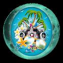 Lunar Calendar. Rest icon