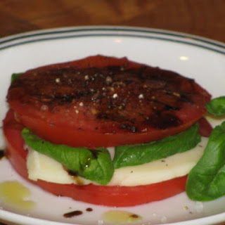 Caprese Sandwich Snack- 80 Calories Recipe