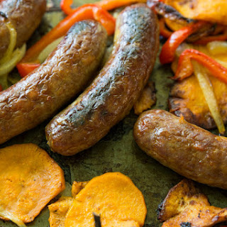 Roasted Brats & Veggies