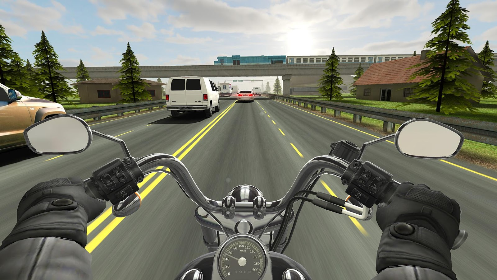 Traffic Rider– captură de ecran