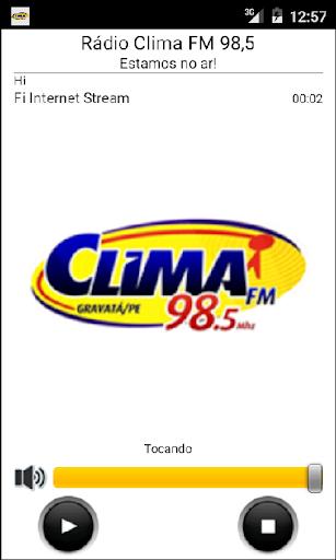 Rádio Clima FM 98 5