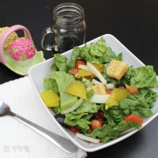 Garden Salad Balsamic Vinegar Recipes