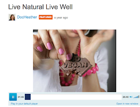 Photo: Live Natural Live Well interview with Heather Lounsbury, L.Ac. Natural Health 18 January 2012  http://www.blogtalkradio.com/docheather/2012/01/17/live-natural-live-well