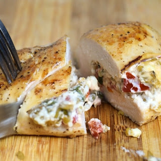 Stuffed Chicken Breasts Feta Cheese Recipes