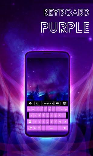 玩個人化App|紫色的鍵盤免費|APP試玩