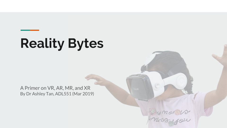 Reality Bytes: A primer on VR, AR, MR, and XR