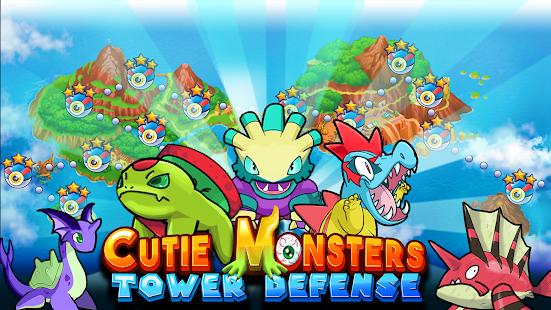 Roztomilý monster Tower Defens - náhled