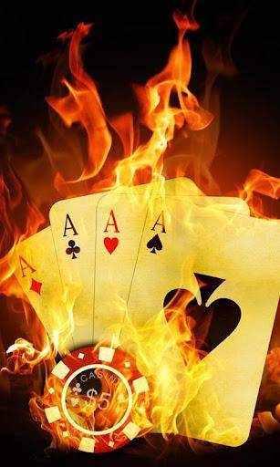 live poker wallpaper