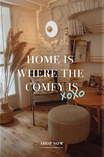 Comfy Home - Pinterest Pin Template