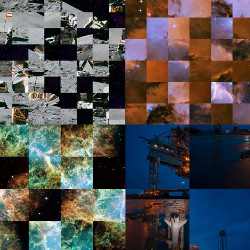 Puzzle Space Pics