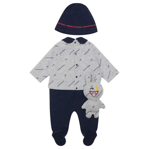 Thumbnail images of Emporio Armani 3 Piece Babysuit Set