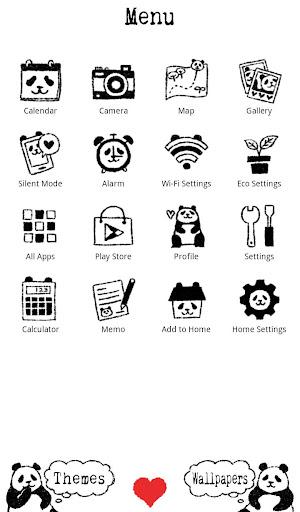 Panda Face wallpaper 1.0.0 Windows u7528 2