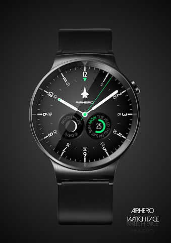 android Airhero Watch Face Screenshot 7