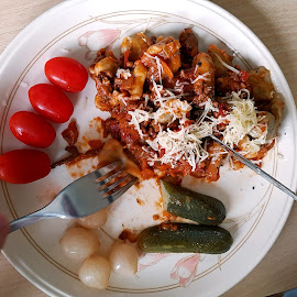Home-made Gnocci by Ingrid Anderson-Riley - Food & Drink Eating