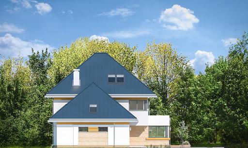 Dom z widokiem 2 C - Elewacja lewa