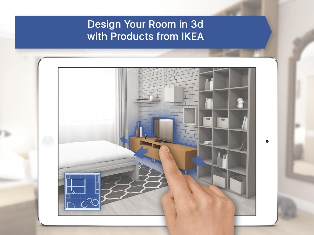 3d Room Planner For Ikea Home Interior Design Screenshot