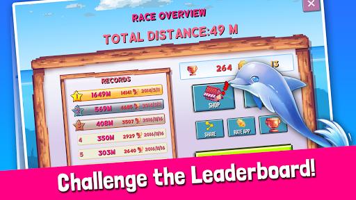 Rainbirth Dolphin Show Infinite Runner Water Race  screenshots 3