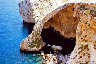 Photo: 1996-07-05. Blue Grotto.  www.loki-travels.eu