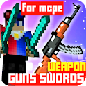 Guns and Swords Mod for MCPE - Weapons Addon icon