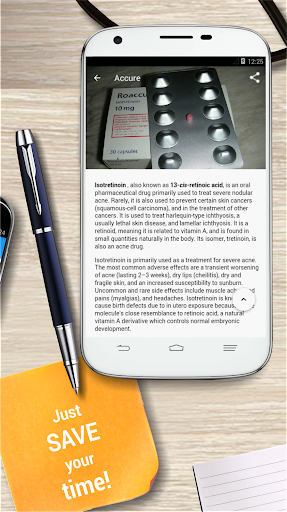 Drugs Dictionary app for Android screenshot