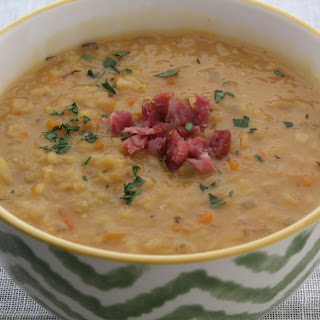 Ham Hock and Lentil Soup